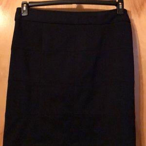 Navy Blue. Mini skirt